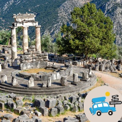 The Self-Drive Greek Mythology Trip for Families: Delphi and Meteora Tours