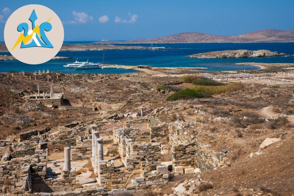 Visit Delos Mykonos with kids who love Percy Jackson (2)
