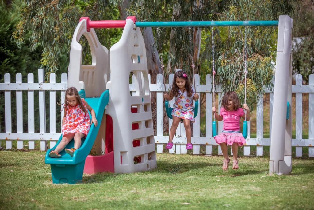 Princess resort Skiathos family vacation Sporades kids having fun outdoor gardens playgrounds