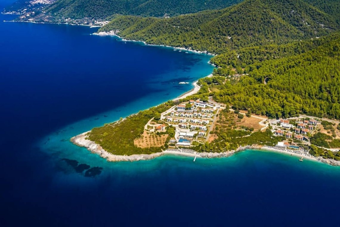 Adrina Hotels Aerial Skopelos