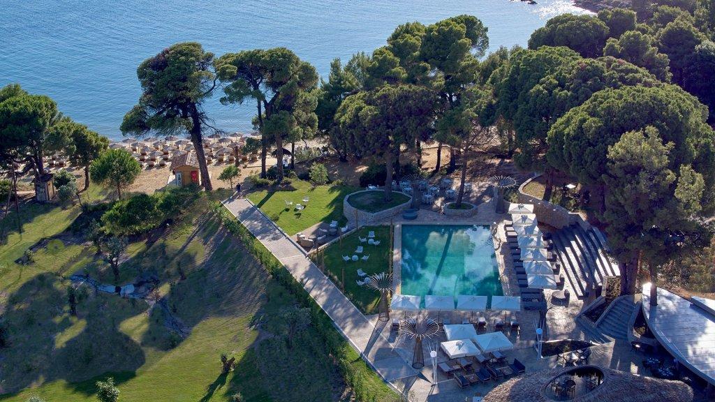 Elivi Resort Skiathos pool