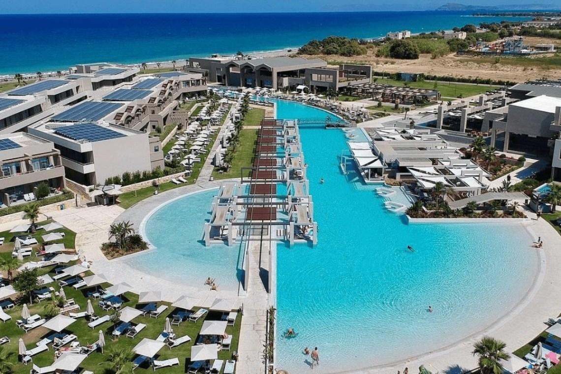 Euphoria Resort Kolymbari Chania Long Pool 3-min