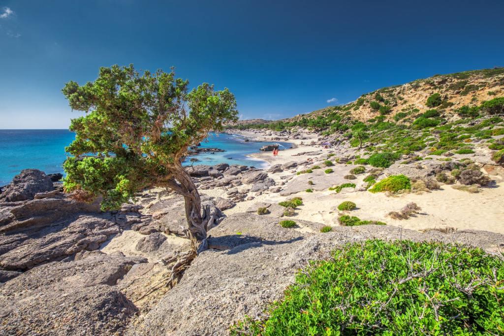 Kedrodasos beach near Elafonissi beach on Crete island DP-min