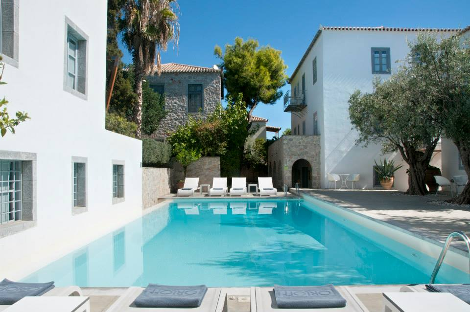 Orloff Resort Spetses pool 2-min