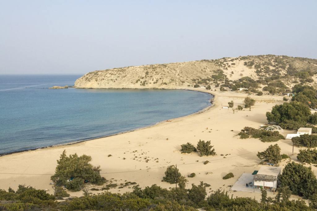 The Beach of Sarakiniko on Gavdos DP-min
