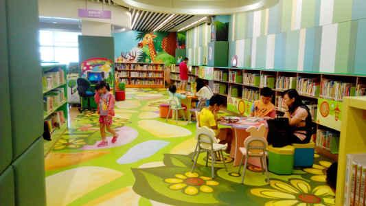 藍田公共圖書館閱讀閣