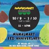 免費親子活動:MAMASMART 3週年@觀塘海濱花園 [30/9-1/10/2017]