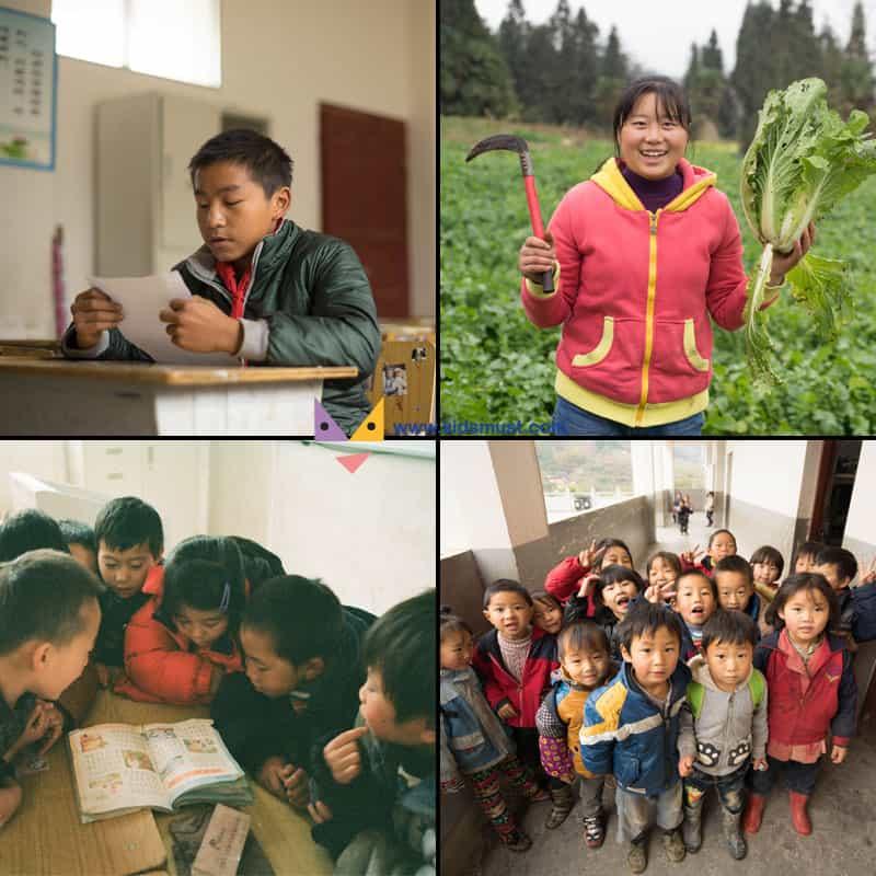 慈善親子活動:捐款樂施會幫助「留守兒童」