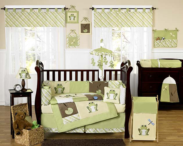 Cute Baby Crib Nursery Bedding Set 226 Leap Frog From Jojo