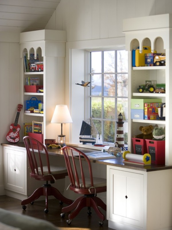 16 Cool Ideas To Organize A Work Area In The Kids Room