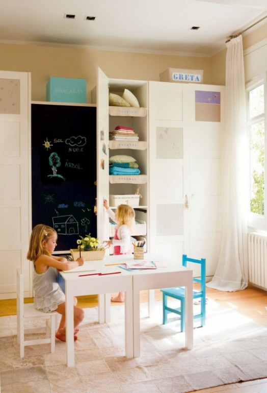 A Cozy And Perfectly Organized Room Design For Two Kids Kidsomania