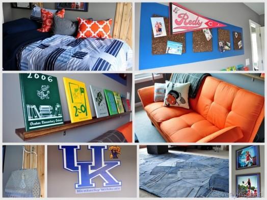 Chill Grey And Orange Room Design For A Pre Teen Boy Kidsomania