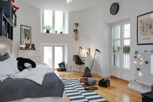 Modern Scandinavian Boy's Bedroom Design | Kidsomania