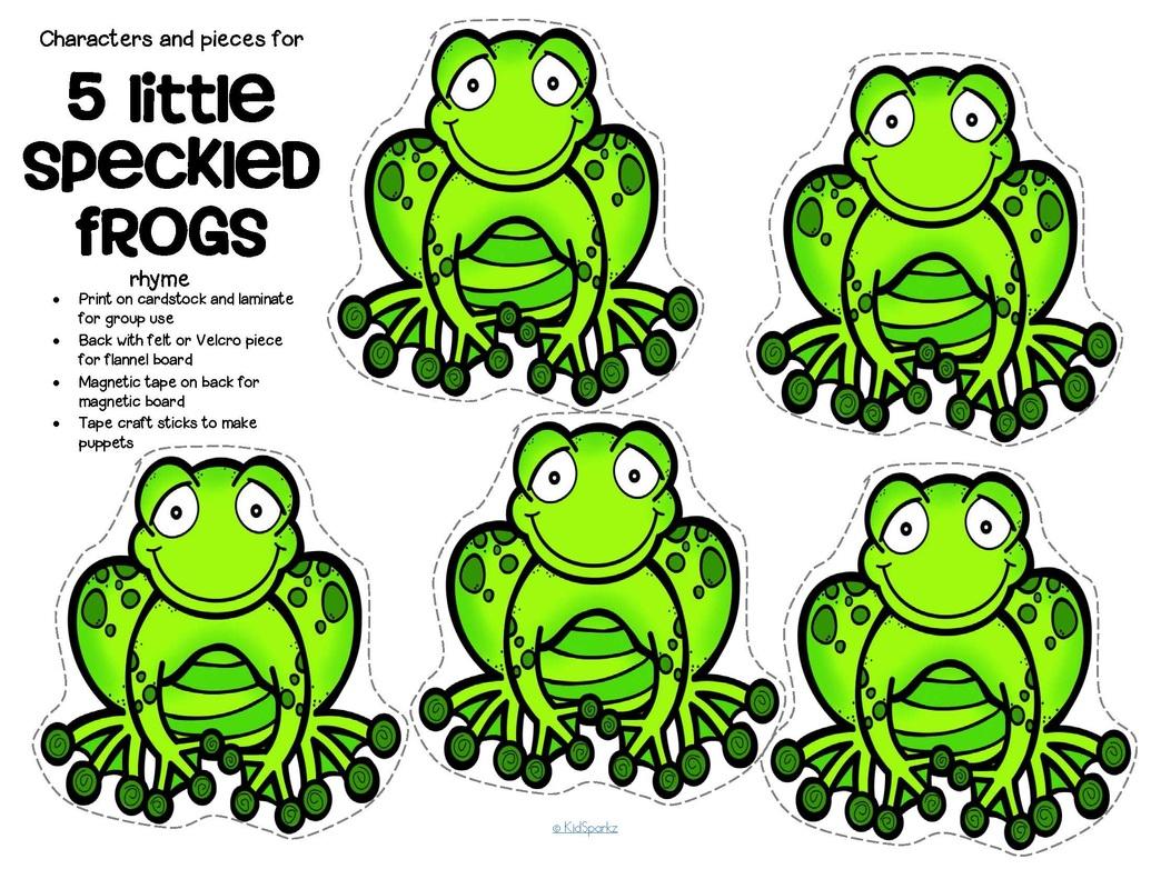 Amphibians Preschool Theme Activities