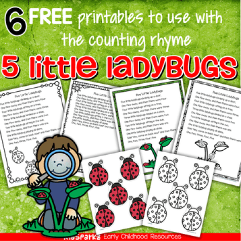 6 free printables to use with