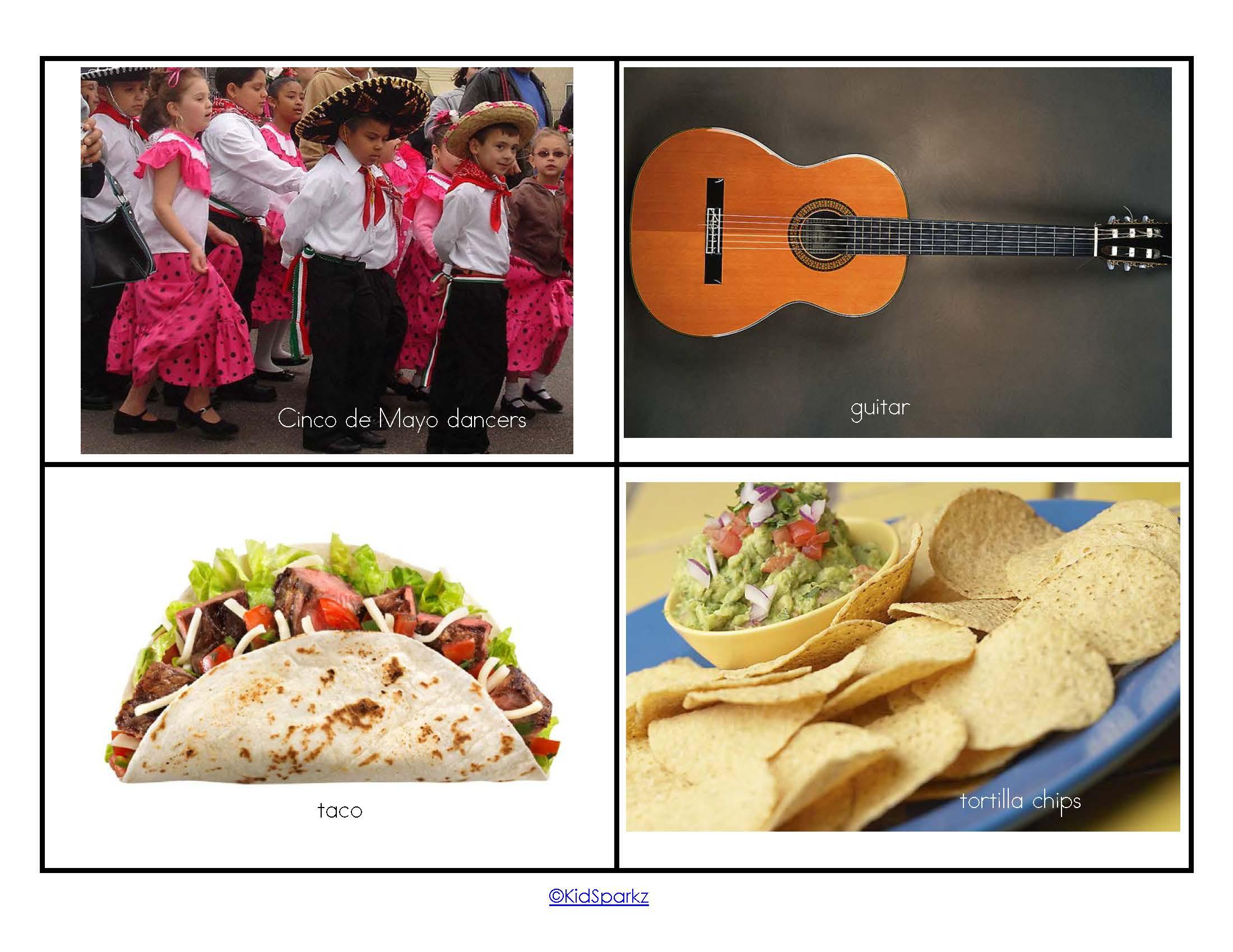 Mexican Fiesta Prep Pack For Preschool