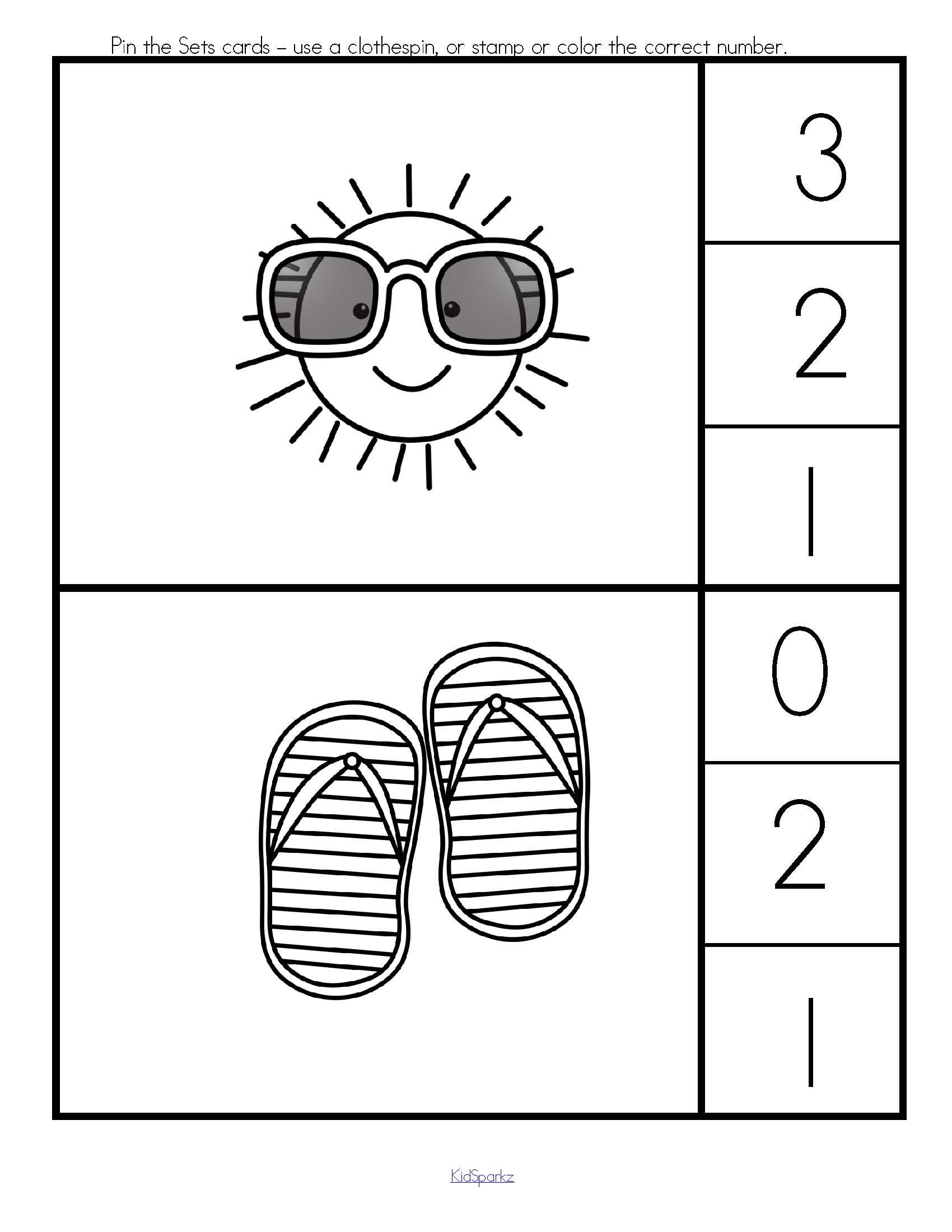 Summer Printables Pack
