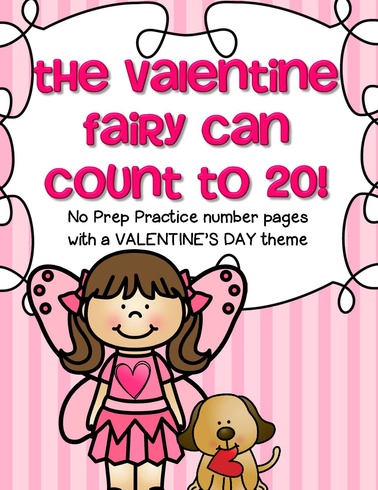 Valentine S Day Number Practice Printables