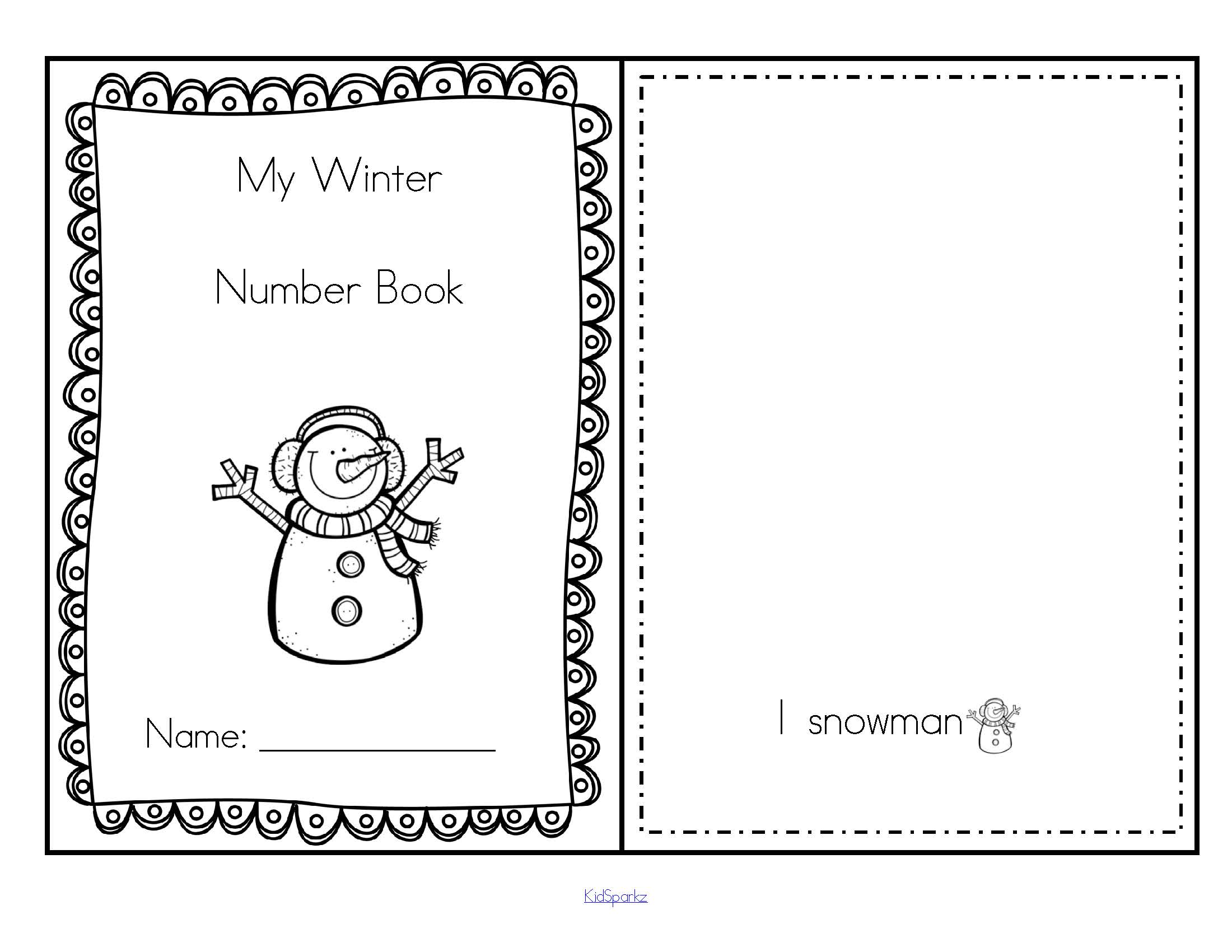 Winter Printables Pack