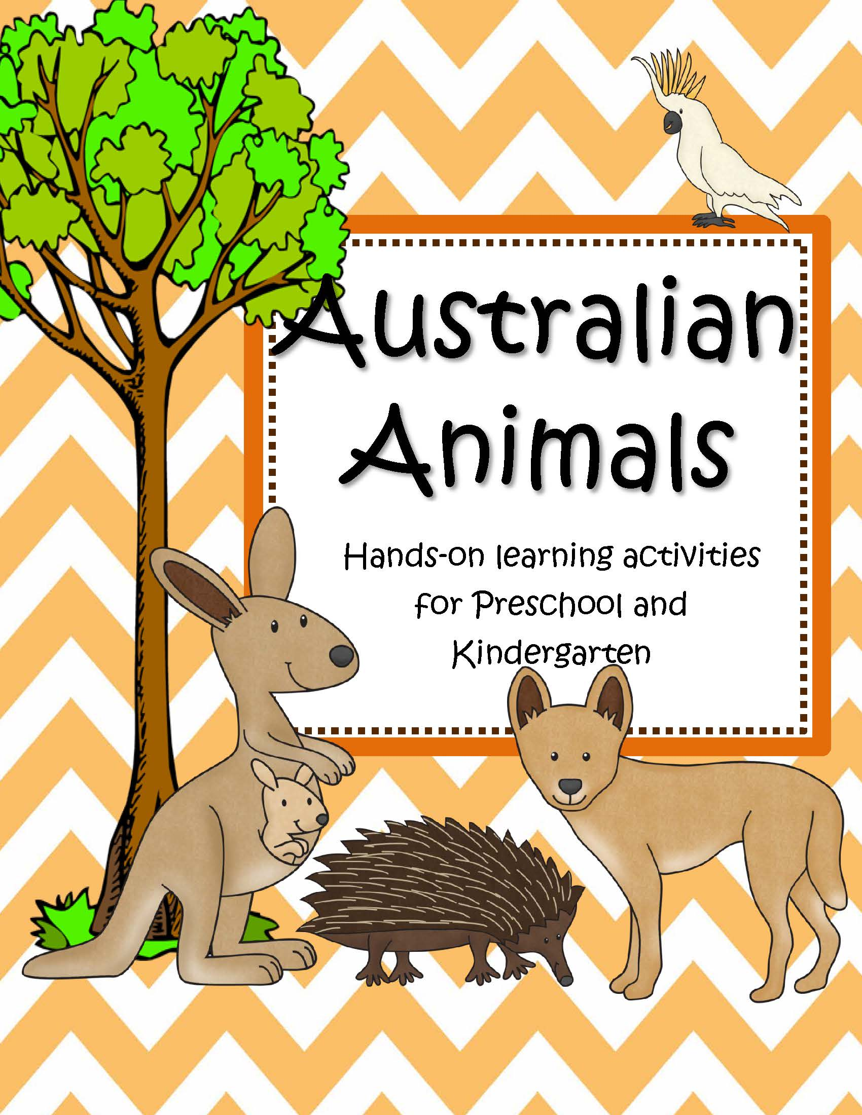 Australian Animals Theme Unit Hands On Learning Activities
