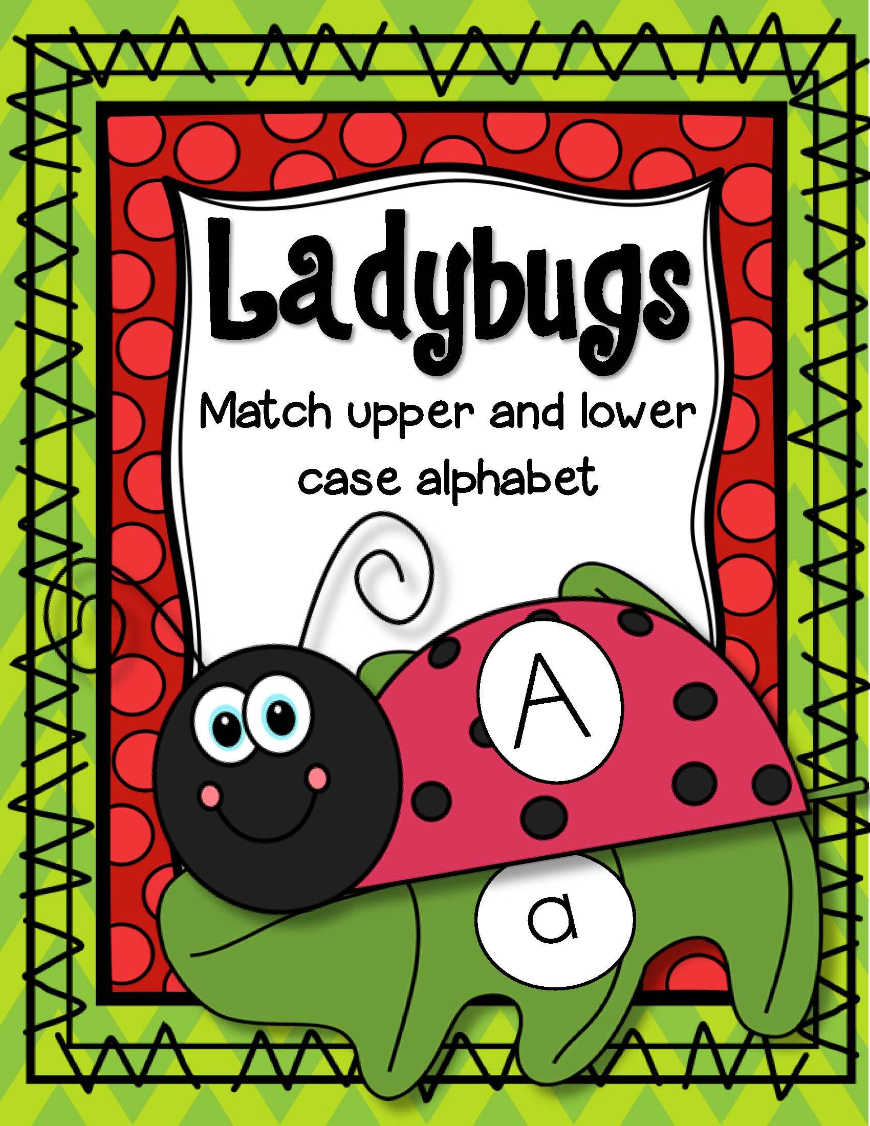 Ladybugs Alphabet Match