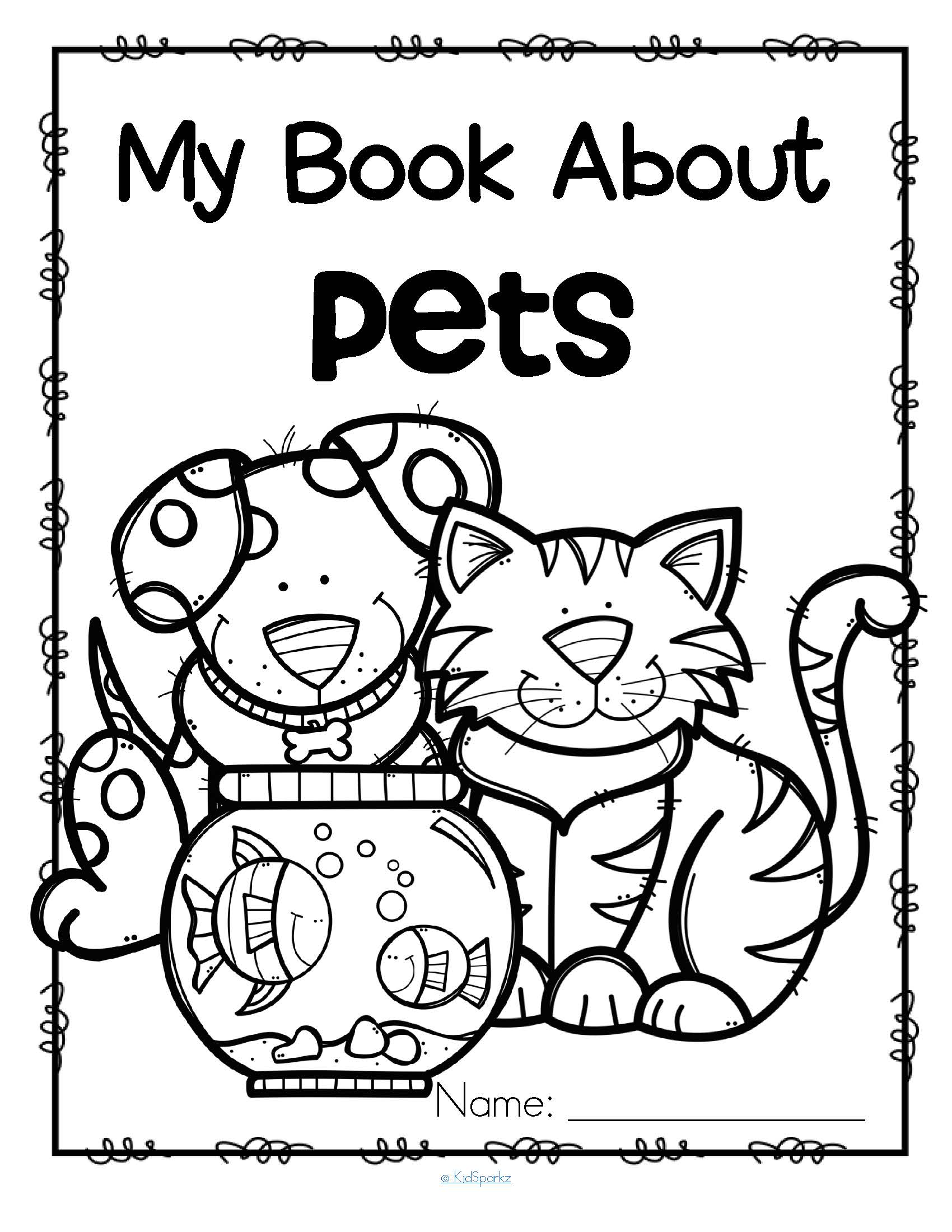Worksheets About Pets