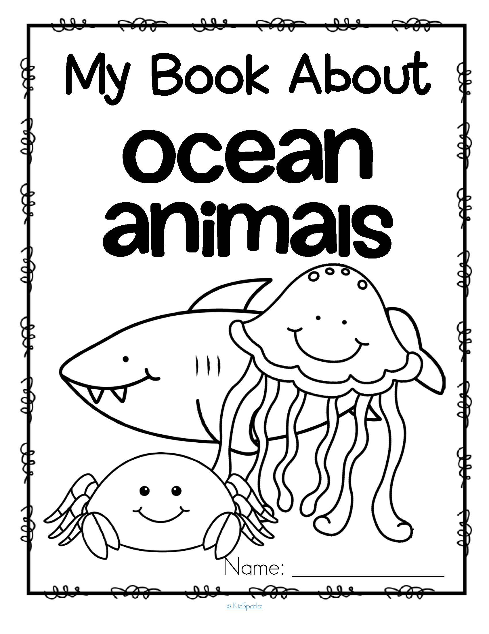 My Book About Ocean Animals