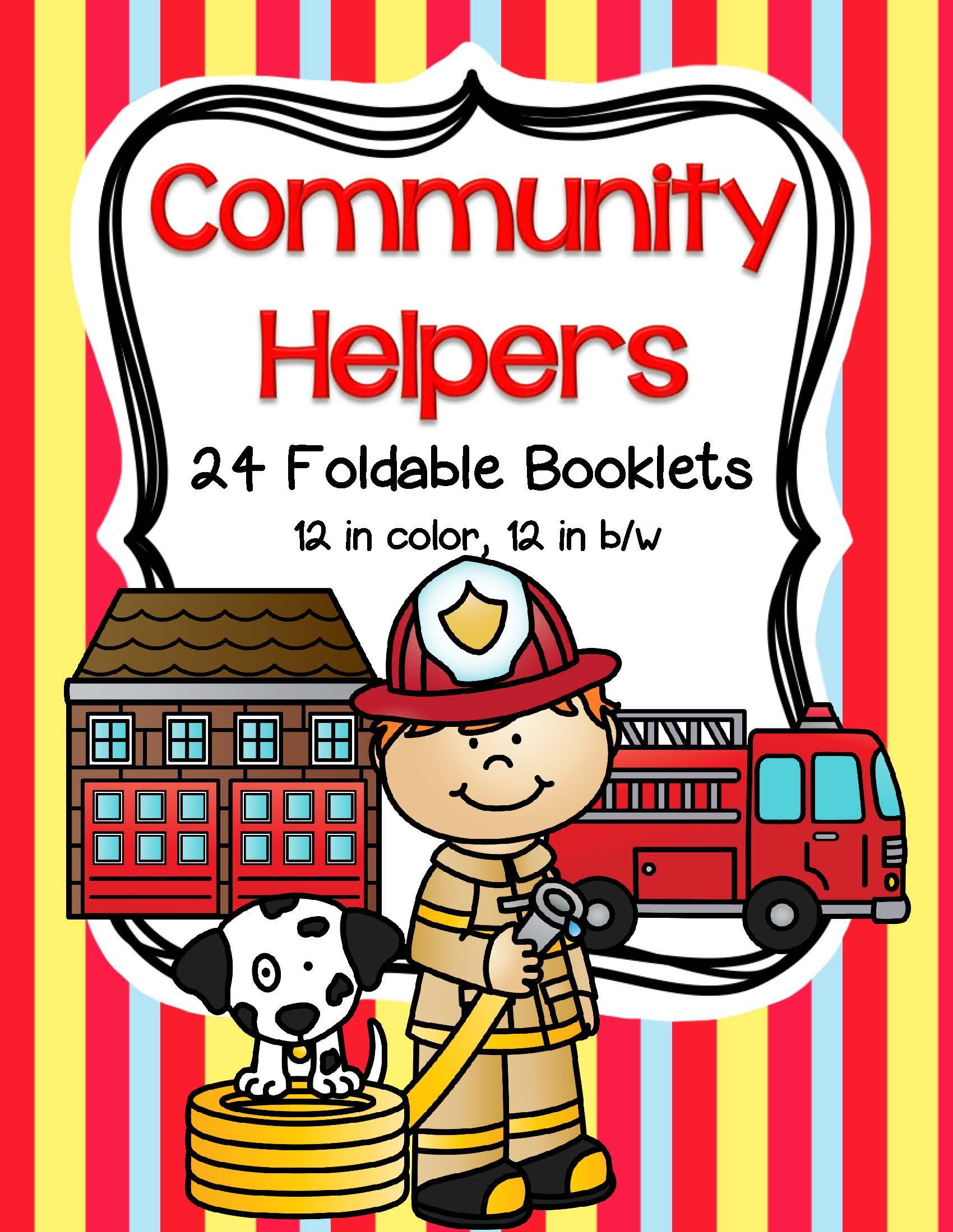 Community Helpers Worksheet For Pre K
