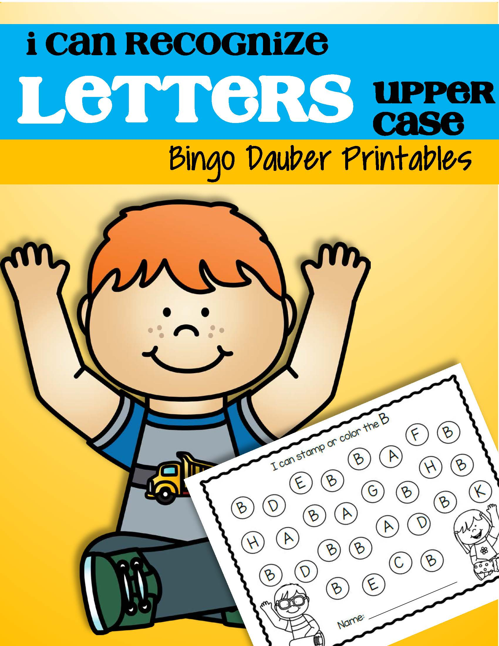 Letter Recognition A Z Printables For Preschool