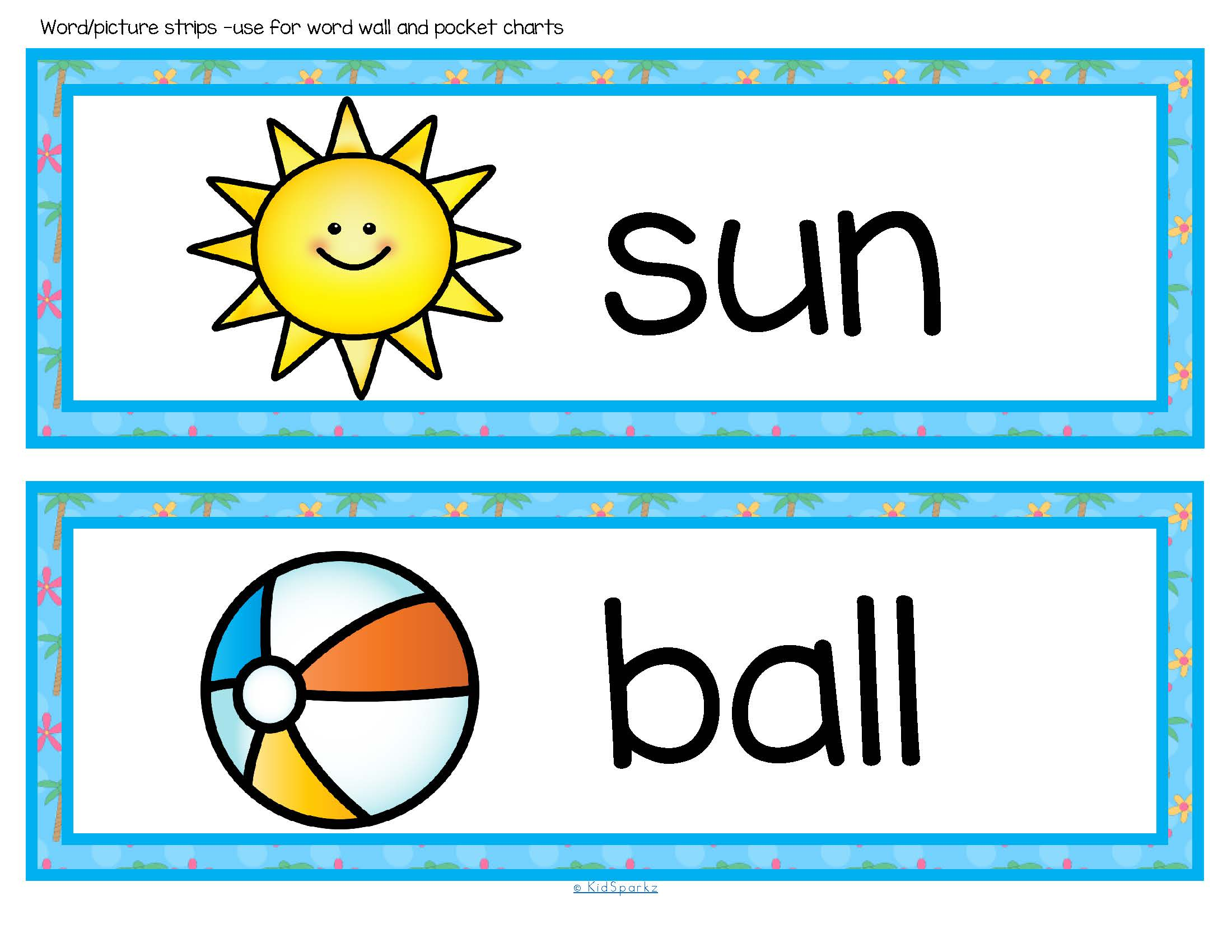 Summer Vocabulary Center And Group Activities For