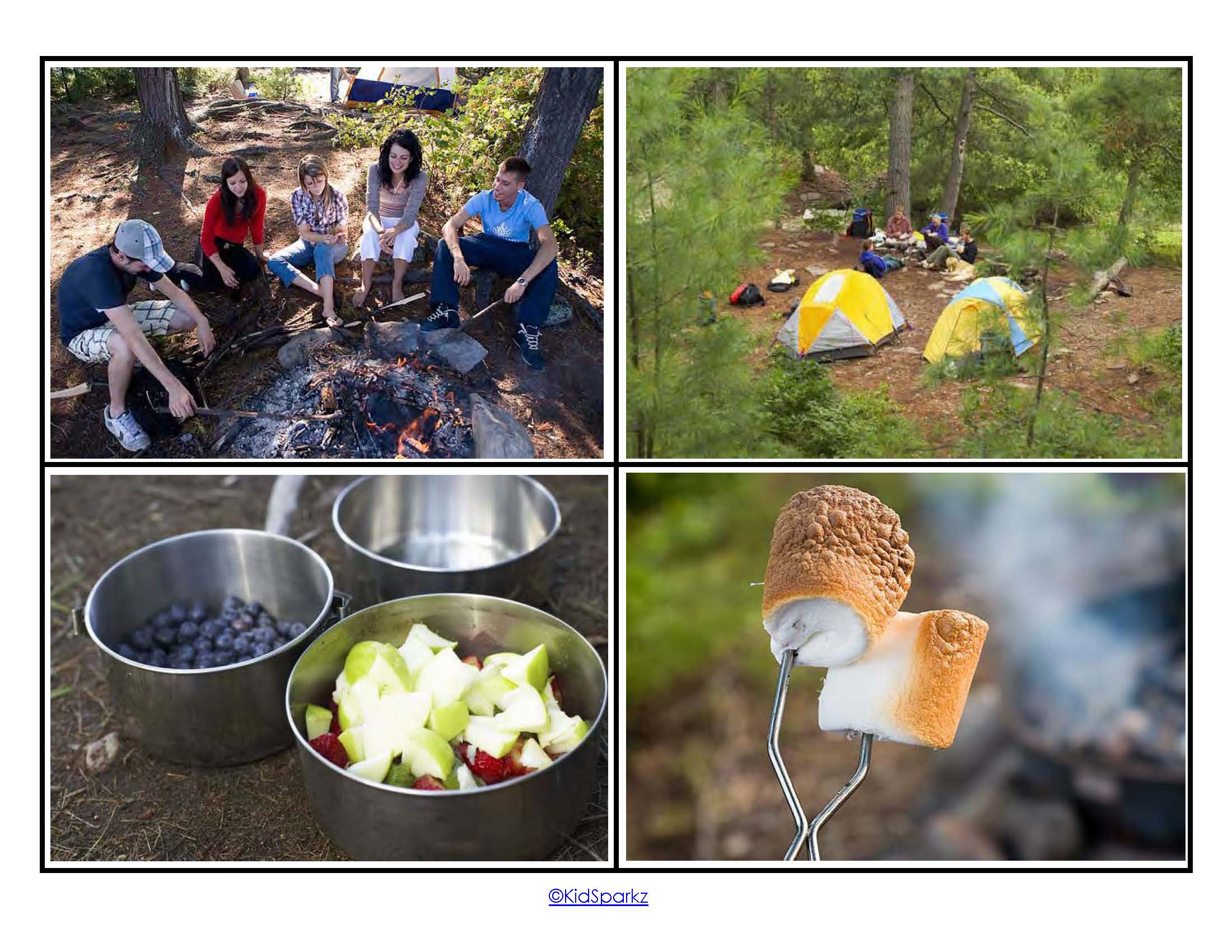 Camping Theme Pack For Preschool