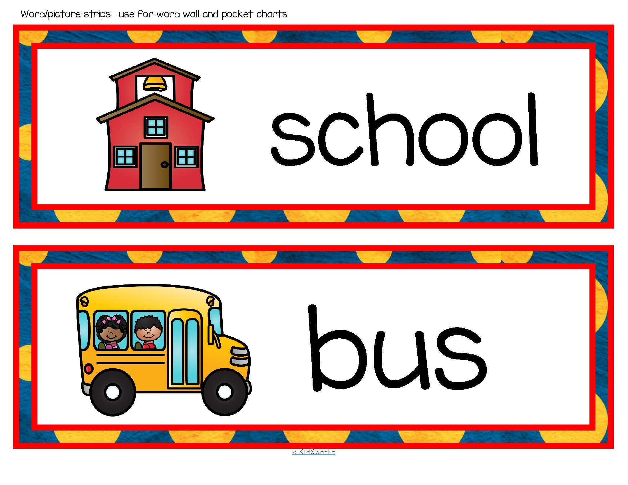 Back To School Vocabulary Center Amp Group Activities For Preschool Amp Kindergarten