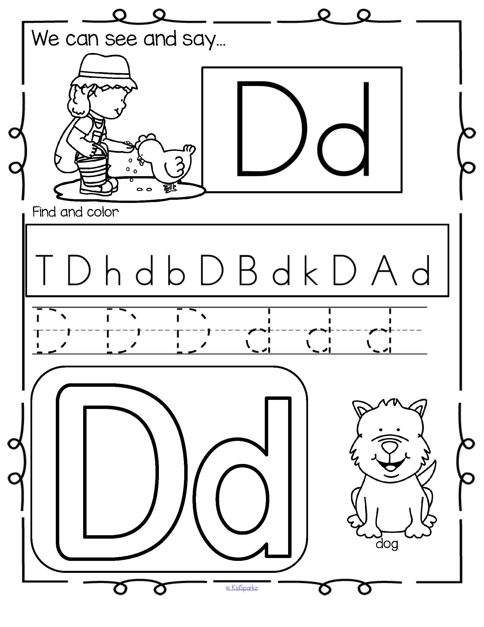 Alphabet Practice Printables Bundle