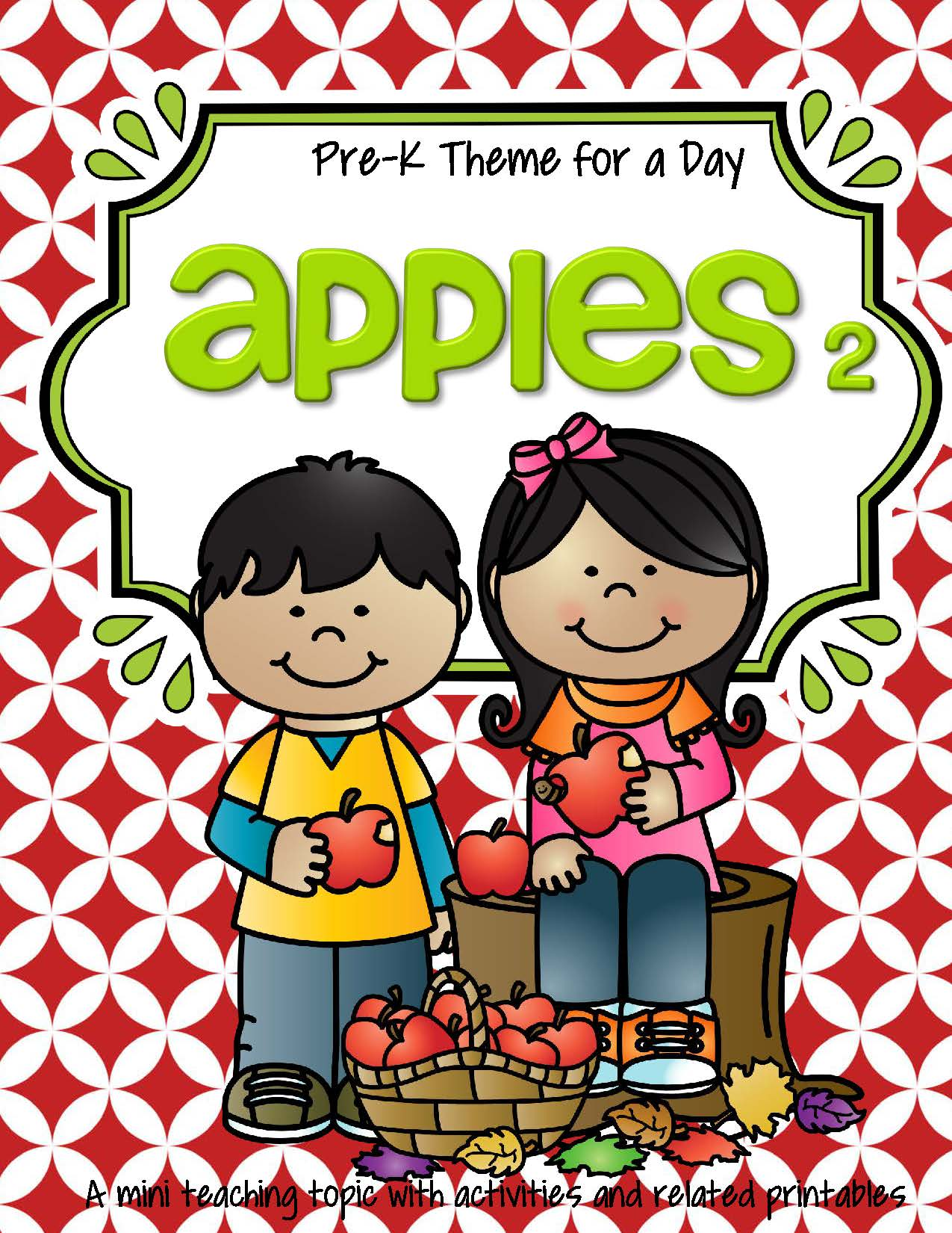 Apples Theme Literacy And Math Activities Printables And