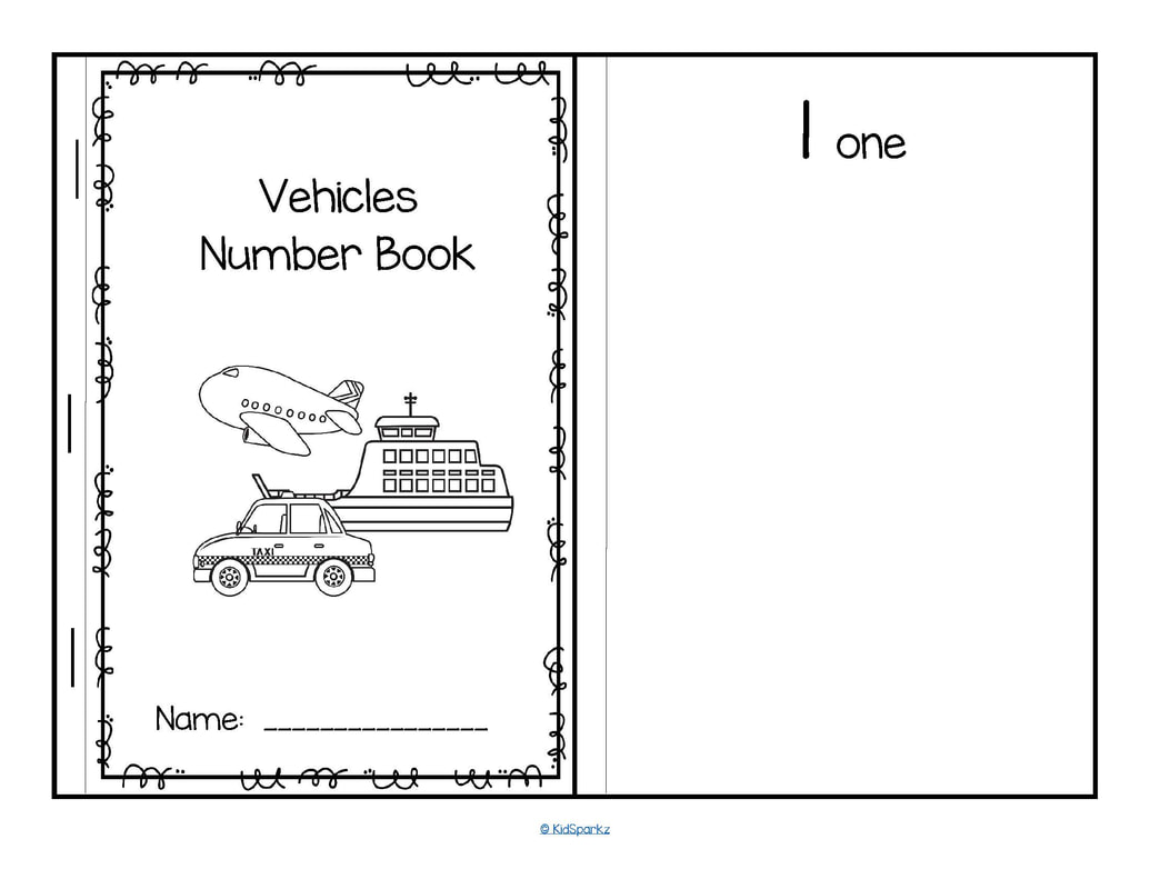 Transportation Theme Activities And Printables For Preschool Pre K And Kindergarten