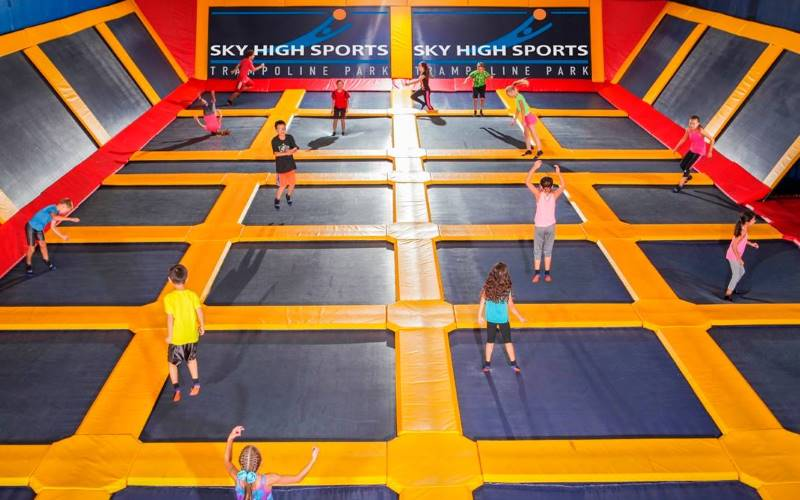 Sky High Sports Valencia Ca