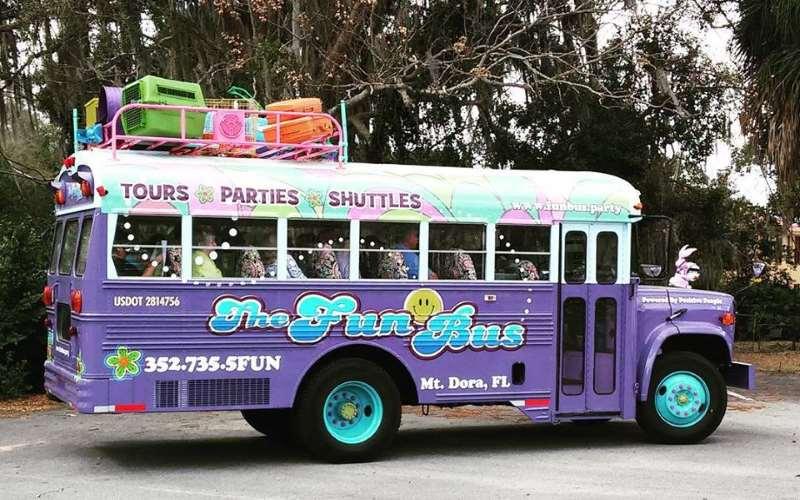 The Fun Bus Birthday Parties Mount Dora Fl