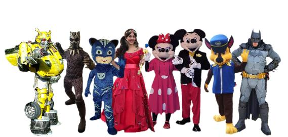 Houston Texas Kids Party Experts Costumed Characters Birthday Parties