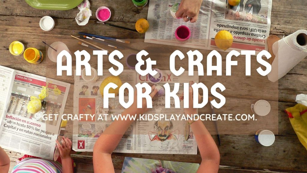 Arts and crafts with kids