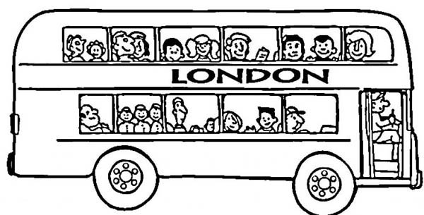 its london double decker kids play color