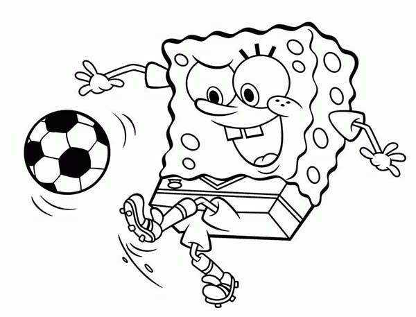 spongebob playing page kids play