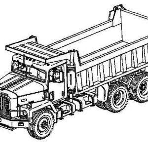 city garbage truck on dump truck coloring page kids play color