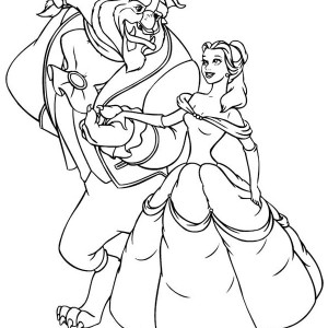 lovely picture of belle on disney princesses coloring page lovely