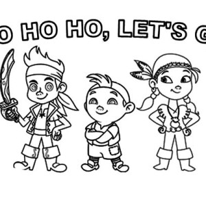 izzy the vice captain of never land pirates coloring page kids
