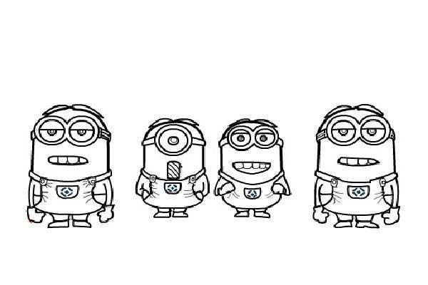 the avengers minion coloring page kids play