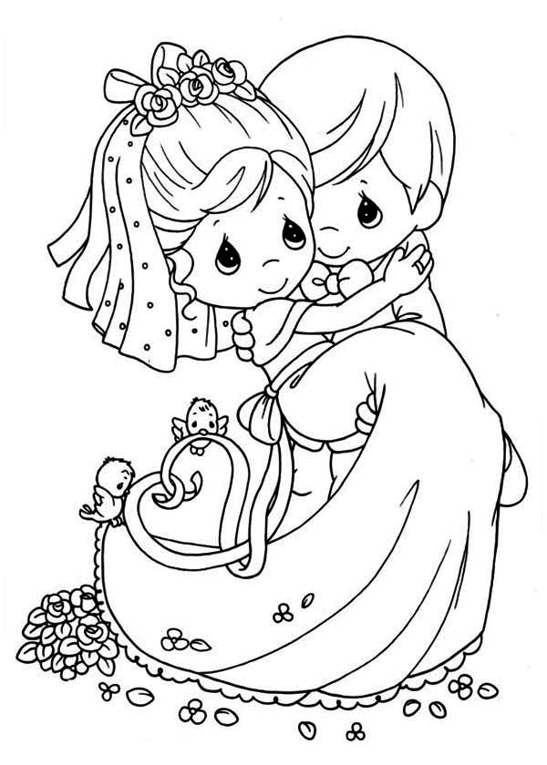 Free Printable Coloring Pages Of Precious Moments, Download Free ... | 840x600