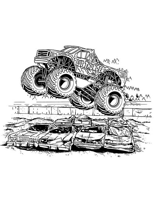 hot wheel monster truck coloring page hot wheel monster truck