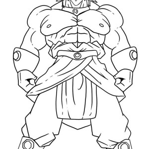 Dragon Ball Z Coloring Pages Goku Super Saiyan 4 Coloring Pages For
