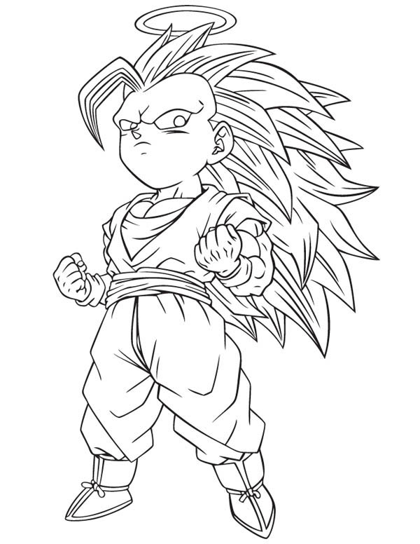 dragon ball z gotenks form in dragon ball z