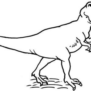 the neander attacked by allosaurus coloring page the neander